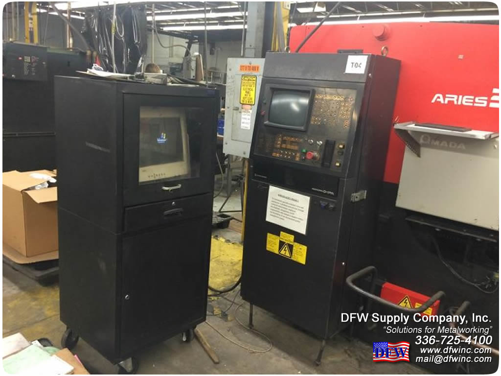 AMADA 20/22 Ton Turret Punch Press for sale - D F W  Supply Company